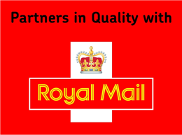Partners in Quality with Royal Mail
